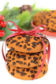 Sweet cookies on table close-up — Zdjęcie stockowe