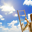 Ladder to the sky — Stock Photo #37531153