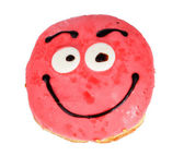 Sweet donut isolated on white — Stock Photo