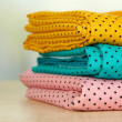 Cloth fabrics close up — Stock Photo #37622269