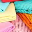 Cloth fabrics close up — Stock Photo #37622293