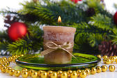 Candle close up — Stock Photo