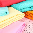 Cloth fabrics close up — Stock Photo #37726279