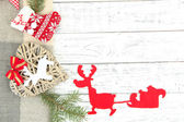 Prachtige Kerstmis achtergrond — Stockfoto