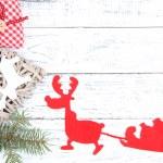 Beautiful Christmas background — Stock Photo