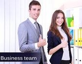 Business colleagues working together in office — Stockfoto