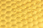 Texture honeycombs close-up background — Stock Photo
