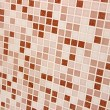 Mosaic tile white and beige color close-up background — Stock Photo