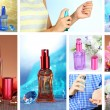 Collage of luxury perfumes — Stock Photo #38389985
