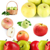 Apples isolated on white — Stock Photo