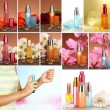 Collage of luxury perfumes — Stock Photo #38390059