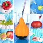 Genetic engineering laboratory. GMO food concept — Stock Photo #38559221