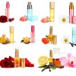 Collage of luxury perfumes — Stock Photo #38589131