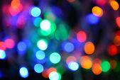 Slavnostní pozadí světel — Stock fotografie
