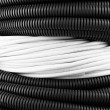 Stock Photo: Cables close-up background