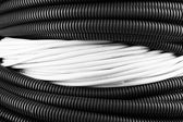 Cables close-up background — Stock Photo