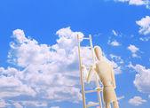 Scala verso il cielo — Foto Stock