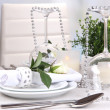 Table arrangement in restaurant — Stock Photo #38811139
