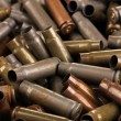 Stock Photo: Shotgun cartridges close-up background