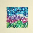 Stock Photo: Abstract colorful picture on wall