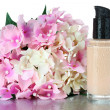 Foto Stock: Foundation cream close up