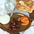 Stock Photo: Conceptual photo of Ramadan table