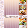 Stock Photo: Restaurant menu