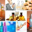 Collage of luxury perfumes — Stock Photo #39160573