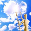 Ladder to the sky — Stock Photo
