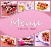 Restaurant menu — Stockfoto