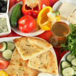 Traditional Turkish breakfast close up — Stock Photo #39279143