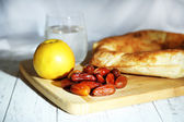Conceptual photo of Ramadan table — Stock fotografie