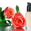 Foundation cream close up — Foto de stock #39437671