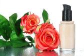 Foundation cream close up — Stockfoto