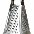Metal grater, isolated on white — Stock Photo