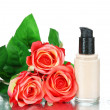 Stockfoto: Foundation cream close up