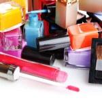 New makeup set close up — Stock Photo