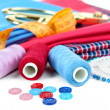 Sewing accessories close up — Stock Photo #39549617
