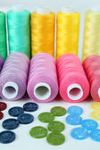 Sewing accessories close up — Stock Photo
