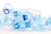 Plastic bottle isolated on white — Stock Photo