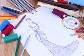 Fashion designer close up — Stock Photo