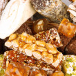 Stock Photo: Tasty oriental sweets, close up