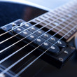 Electric guitar , close up — Stock Photo #39956737