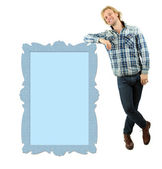 Handsome young man isolated on white — Stock Photo