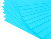 Красочный Арт бумага, изолированные на белом — Стоковое фото