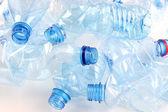 Plastik şişe yakın çekim — Stok fotoğraf