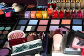 Much makeup close-up — Stock Photo