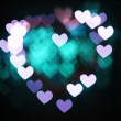 Stock fotografie: Bright heart bokeh background