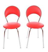современные кожаные кресла, изолированные на белом — Стоковое фото