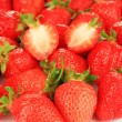 Fresh strawberry close up — Stock Photo #40590073